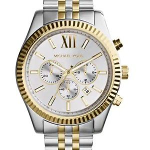 Michael Kors Lexington Chrono Watch $356 MK-3844